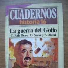 Coleccionismo de Revista Historia 16: CUADERNOS HISTORIA 16. LA GUERRA DEL GOLFO. Nº 298. Lote 42373935