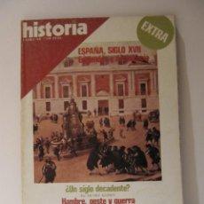 Coleccionismo de Revista Historia 16: REVISTA HISTORIA 16 EXTRA XII DIC 1979 ESPAÑA SIGLO XVII. Lote 43170409