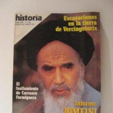 Coleccionismo de Revista Historia 16: REVISTA HISTORIA 16 Nº 144 JOMEINI LA COLERA DE ALA ABR 1988. Lote 43170574