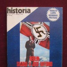 Coleccionismo de Revista Historia 16: HISTORIA 16. AÑO I. Nº 1.BERLIN, SALVAD A JOSE ANTONIO. AUTONOMÍA CATALANA. MAYO 1976. Lote 43411204