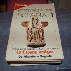 Coleccionismo de Revista Historia 16: HISTORIA 16 HISTORIA DE ESPAÑA COMPLETA 13 REVISTAS. Lote 50381126