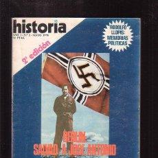 Coleccionismo de Revista Historia 16: HISTORIA 16 , Nº 1 BERLIN : SALVAD JOSE ANTONIO - MAYO 1976. Lote 46946595