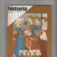 Collectionnisme de Magazine Historia 16: HISTORIA 16 Nº 21 ENERO 1978. Lote 48287237