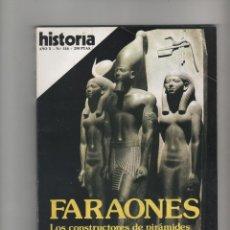 Coleccionismo de Revista Historia 16: HISTORIA 16 Nº 116, FARAONES, LOS CONSTRUCTORES DE PIRAMIDES. Lote 48316320