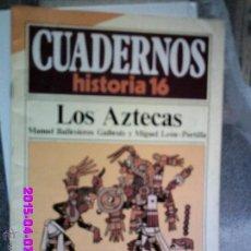 Coleccionismo de Revista Historia 16: LOS AZTECA-CUADERNOS DE HISTORIA16. Lote 50224690
