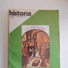 Coleccionismo de Revista Historia 16: HISTORIA 16. EXTRA I. DICIEMBRE 1976. LA INQUISICIÓN. REPRESIÓN EN ESPAÑA. Lote 50455698