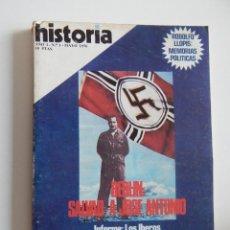 Coleccionismo de Revista Historia 16: HISTORIA 16. Nº 1. MAYO 1976. BERLÍN: SALVAD A JOSÉ ANTONIO. AUTONOMÍA CATALANA 1931-1938. Lote 50616801