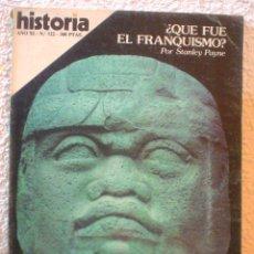 Coleccionismo de Revista Historia 16: REVISTA HISTORIA 16. Nº 122. EL ENIGMA DE LOS OLMECAS.. Lote 52608125