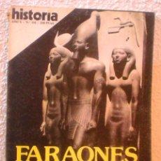 Coleccionismo de Revista Historia 16: REVISTA HISTORIA 16. Nº 116. FARAONES.LOS CONSTRUCTORES DE PIRAMIDES.. Lote 52608145