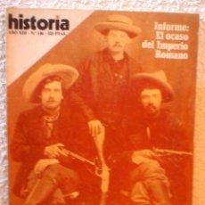 Coleccionismo de Revista Historia 16: REVISTA HISTORIA 16. Nº 146. PISTOLEROS.MITO Y MISERIA DEL FAR WEST.. Lote 52608241