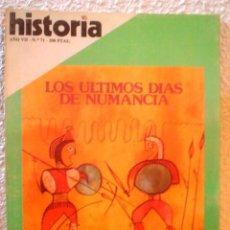 Coleccionismo de Revista Historia 16: REVISTA HISTORIA 16. Nº 71. LOS ULTIMOS DIAS DE NUMANCIA.. Lote 52608334