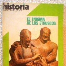 Coleccionismo de Revista Historia 16: REVISTA HISTORIA 16. Nº 40 . EL ENIGMA DE LOS ETRUSCOS.. Lote 52608352