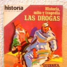 Coleccionismo de Revista Historia 16: REVISTA HISTORIA 16. Nº 133. LAS DROGAS.HISTORIA,MITO Y TRAGEDIA.. Lote 52608416