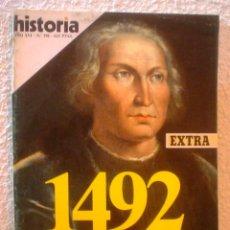 Coleccionismo de Revista Historia 16: REVISTA HISTORIA 16. Nº 198. 1492.EL DESCUBRIMIENTO DE AMERICA.. Lote 52608477