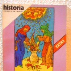 Coleccionismo de Revista Historia 16: REVISTA HISTORIA 16. Nº 136. EL MUNDO MAGICO.SUPERSTICIONES,BRUJAS,HECHICEROS E INQUISIDORES.. Lote 52608573