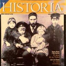 Coleccionismo de Revista Historia 16: HISTORIA 16 S.RAMON Y CAJAL EL SABIO DEL 98. JULIO 1999. Lote 53298412