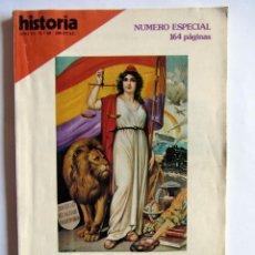Coleccionismo de Revista Historia 16: REVISTA HISTORIA 16 AÑO VI Nº 60 NUMERO ESPECIAL- 50 ANIVERSARIO LA REPÚBLICA DE ABRIL . Lote 53746160