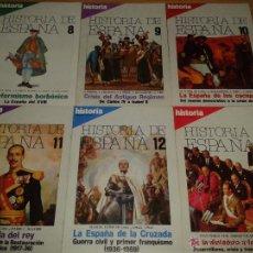 Coleccionismo de Revista Historia 16: REVISTA HISTORIA 16. HISTORIA DE ESPAÑA. 13 NÚMEROS. Lote 53767736