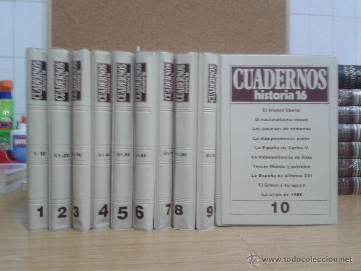 CUADERNOS HISTORIA 16. 100 NUMEROS (Coleccionismo - Revistas y Periódicos Modernos (a partir de 1.940) - Revista Historia 16)