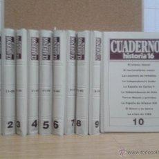 Coleccionismo de Revista Historia 16: CUADERNOS HISTORIA 16. 100 NUMEROS. Lote 53809498