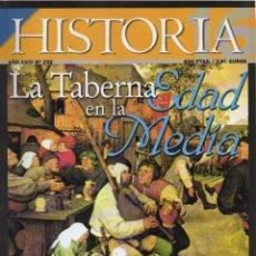 Coleccionismo de Revista Historia 16: HISTORIA 16 (AÑO XXIV Nº 292) 'LA TABERNA EN LA EDAD MEDIA'. Lote 141204338