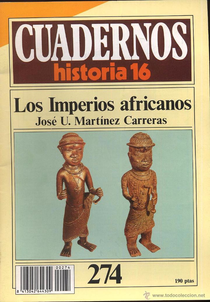 CUADERNOS HISTORIA 16 - 16 N 274 - LOS IMPERIOS AFRICANOS (Coleccionismo - Revistas y Periódicos Modernos (a partir de 1.940) - Revista Historia 16)