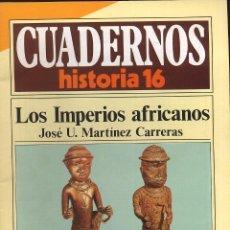 Coleccionismo de Revista Historia 16: CUADERNOS HISTORIA 16 - 16 N 274 - LOS IMPERIOS AFRICANOS. Lote 54716510