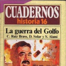 Coleccionismo de Revista Historia 16: CUADERNOS HISTORIA 16 - LA GUERRA DEL GOLFO. Lote 54716516
