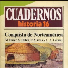 Coleccionismo de Revista Historia 16: CUADERNOS HISTORIA 16 - N 267 CONQUISTA DE NORTEAMERICA. Lote 54716525