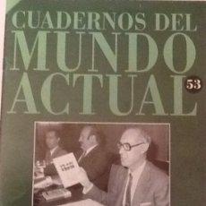 Coleccionismo de Revista Historia 16: CUADERNOS DEL MUNDO ACTUAL 53 LA ESPAÑA DEL 600 HISTORIA 16. Lote 56084354