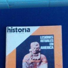 Colecionismo da Revista Historia 16: REVISTA HISTORIA 16 - LESIONES RITUALES EN AMERICA Nº 39. Lote 57133597