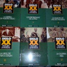 Coleccionismo de Revista Historia 16: HISTORIA 16. TEMAS DE HOY. SIGLO XX. HISTORIA UNIVERSAL. 6 NÚMEROS. VER FOTOS ENVIO ECONOMICO CORREO. Lote 57139348