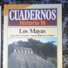 Coleccionismo de Revista Historia 16: CUADERNOS HISTORIA 16 - LOS MAYAS. Lote 58088691