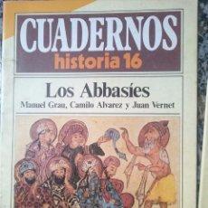 Coleccionismo de Revista Historia 16: CUADERNOS HISTORIA 16 - LOS ABBASIES. Lote 58088696