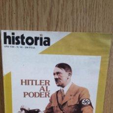 Coleccionismo de Revista Historia 16: AÑO VIII. Nº 81. HITLER AL PODER / FELIPE IV: UN MILITAR FRUSTRADO Y OTROS ARTÍCULOS.. Lote 58481777