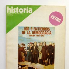 Coleccionismo de Revista Historia 16: HISTORIA 16 - EXTRA III - JUNIO 1977 - LOS 9 ENTIERROS DE LA DEMOCRACIA - LA CAÍDA DE ESPARTERO. Lote 58700771