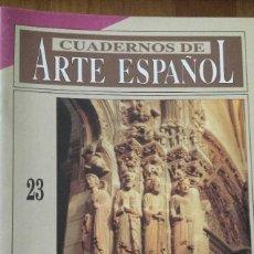 Coleccionismo de Revista Historia 16: CUADERNOS DE ARTE ESPAÑOL, Nº 26. EL MAESTRO MATEO. RAMÓN YZQUIERDO. HISTORIA 16.. Lote 60043843