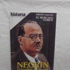 Coleccionismo de Revista Historia 16: REVISTA HISTORIA 16 Nº 117 NEGRIN EL HOMBRE DE MOSCU. Lote 61412663