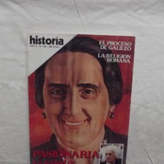 Coleccionismo de Revista Historia 16: REVISTA HISTORIA 16 Nº 118 PASIONARIA LA VERDAD DE DOLORES IBARRURI. Lote 61412815