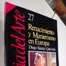 Coleccionismo de Revista Historia 16: HISTORIA DEL ARTE 27 RENACIMIENTO Y MANIERISMO EN EUROPA. Lote 62611260