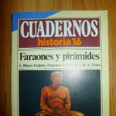Coleccionismo de Revista Historia 16: CUADERNOS HISTORIA 16. 70 : FARAONES Y PIRÁMIDES. Lote 62774656