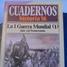 Coleccionismo de Revista Historia 16: CUADERNOS HISTORIA 16 .N' 35 Y 36. LA I GUERRA MUNDIAL. Lote 62774716