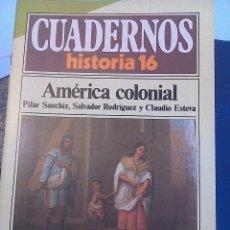 Coleccionismo de Revista Historia 16: CUADERNOS HISTORIA 16 .N' 84. AMERICA COLONIAL. Lote 62780188