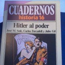 Coleccionismo de Revista Historia 16: CUADERNOS HISTORIA 16 .N' 57. HITLER AL PODER. Lote 62782512