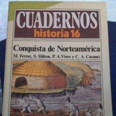 Coleccionismo de Revista Historia 16: CUADERNOS HISTORIA 16. N' 267 LA CONQUISTA DE NORTEAMERICA. Lote 64098863