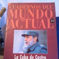 Coleccionismo de Revista Historia 16: CUADERNOS DEL MUNDO ACTUAL N' 40 LA CUBA DE CASTRO. Lote 64191027