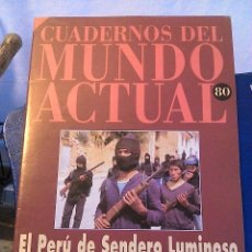 Coleccionismo de Revista Historia 16: CUADERNOS DEL MUNDO ACTUAL N' 80 EL PERU DE SENDERO LUMINOSO. Lote 64191931
