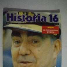 Coleccionismo de Revista Historia 16: REVISTA HISTORIA 16. AÑO XVIII. 550 PTAS. Nª 212.CARRERO BLANCO-PALADIN DEL FRANQUISMO.DICIEMBR 1993. Lote 64701351