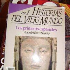 Coleccionismo de Revista Historia 16: HISTORIAS DEL VIEJO MUNDO Nº 1. LOS PRIMEROS ESPAÑOLES. IBEROS, VASCONES, CELTIBEROS, LUSITANOS. Lote 68621389