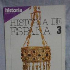 Coleccionismo de Revista Historia 16: REVISTA HISTORIA 16 ,HISTORIA DE ESPAÑA Nº 3 , LA ALTA EDAD MEDIA - 1.980. Lote 69121013